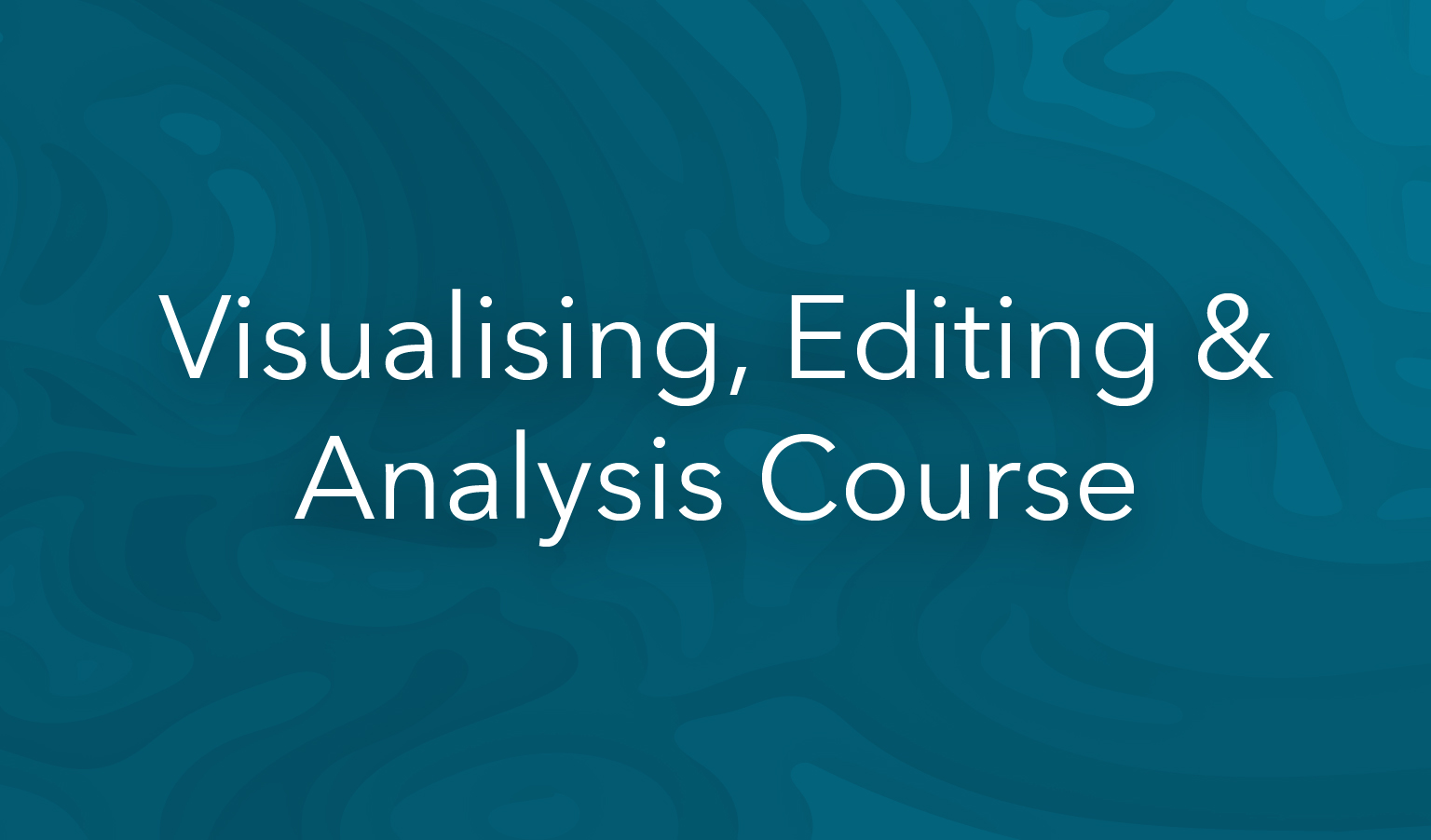 esri training visualising and analysis course