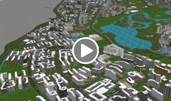 Engineering Singapore's  future cityscape video