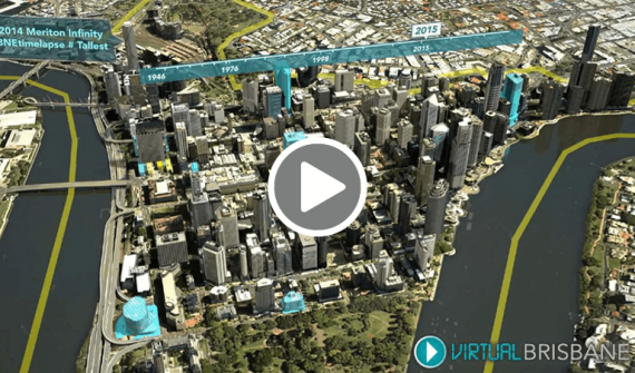 Brisbanes virtual 3D city model