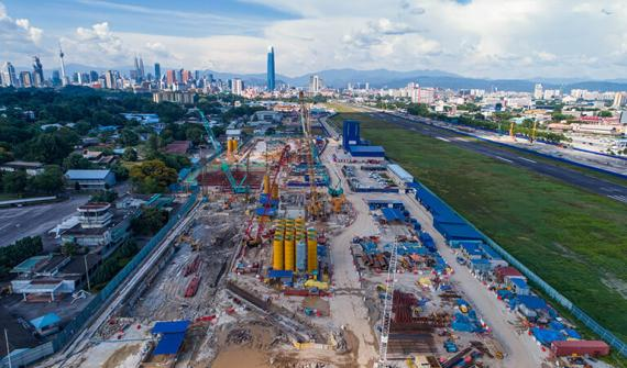 GIS helps keep Malaysia's MRT2 project on track card